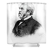 William Burnham Woods (1824-1887) Shower Curtain