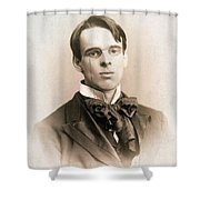 William Butler Yeats (1865-1939) Shower Curtain