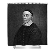 William Harvey (1578-1657) Shower Curtain