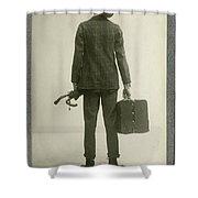 William Hodge (1874-1932) Shower Curtain