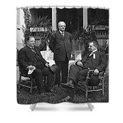 William Howard Taft(1857-1930) Shower Curtain