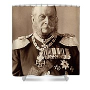 William I Of Prussia (1797-1888) Shower Curtain