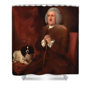 William Lowndes - A Auditor Of His Majesty's Court Of Exchequer  Shower Curtain