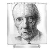 William S. Burroughs Shower Curtain