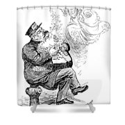 William S Shower Curtain