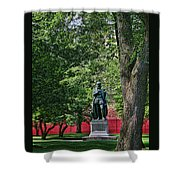 William The Silent Shower Curtain