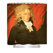 William Vans Murray By Mather Brown Shower Curtain