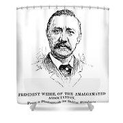William Weihe Shower Curtain