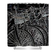 Williamsburg Bikes Shower Curtain