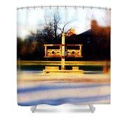 Williamsburg Stocks Shower Curtain