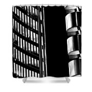 Willis Group And Lloyd's Of London Abstract Shower Curtain