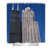 Willis Tower Chicago Shower Curtain