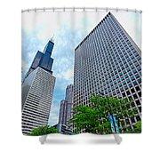 Willis Tower Shower Curtain
