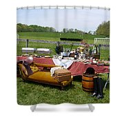 Willowdale - Dining In Style Shower Curtain