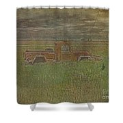 Willys Jeep 1952 Shower Curtain