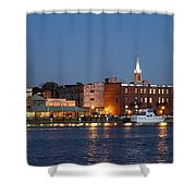 Wilmington At Night Shower Curtain