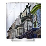 Wilmington Houses Shower Curtain