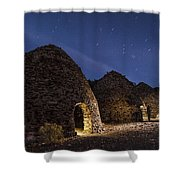 Wilrose Charcoal Kilns Shower Curtain