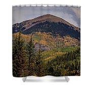 Wilson Peak Colorado Shower Curtain