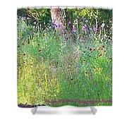 Wimberly Wildflowers Shower Curtain