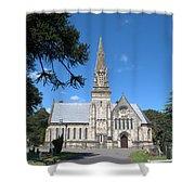 Wimborne Road Cemetery Shower Curtain