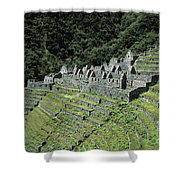Winay Wayna Inca Trail Peru Shower Curtain