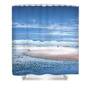 Winchelsea Beach Shower Curtain