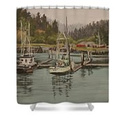 Winchester Bay Shower Curtain