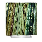 Winchester Catalogs Shower Curtain