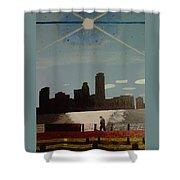 Wind And Spirit In Boston Shower Curtain