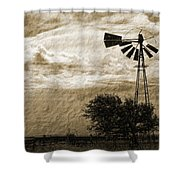 Wind Blown Shower Curtain by Tony Grider