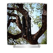 Wind Chime Shower Curtain