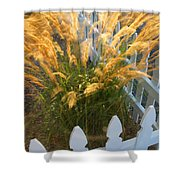 Wind In The Grass Shower Curtain