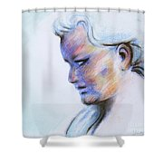 Wind Mother Shower Curtain