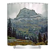 Wind Rivers 3 Shower Curtain