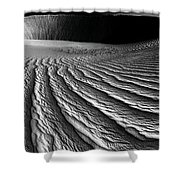 Wind Sand Light And Time Shower Curtain