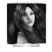 Wind Smells Of Freedom Shower Curtain