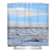 Wind Swept Plains Of Iceland Shower Curtain