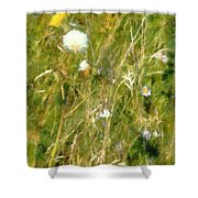 Wind Through The Meadow Shower Curtain