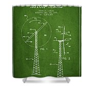 Wind Turbine Rotor Blade Patent From 1995 - Green Shower Curtain
