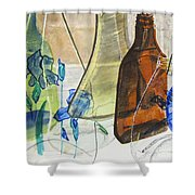 Windchime Shower Curtain