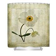 Windflowers Shower Curtain