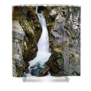 Winding Down The Cliffs Shower Curtain