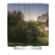Winding Home Shower Curtain