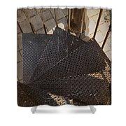 Winding Iron Shower Curtain