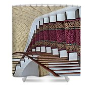 Winding Staircase Shower Curtain by Kathleen Struckle
