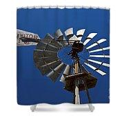 Windmill Aermotor Company Shower Curtain