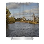 Windmill How Hill Shower Curtain