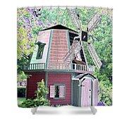 Windmill - Photopower 1555 Shower Curtain