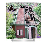 Windmill - Photopower 1556 Shower Curtain